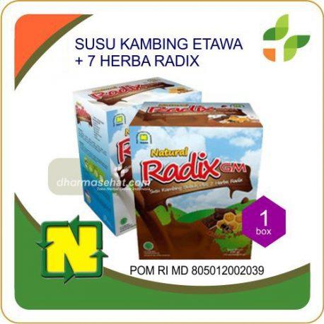 19 RADIX COKELAT