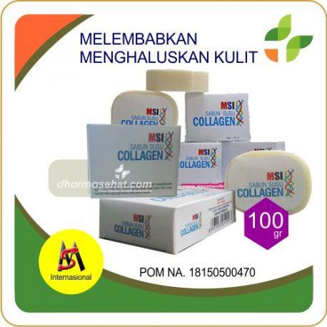 MSI Sabun Susu Collagen untuk Menghaluskan Mencerahkan Kulit