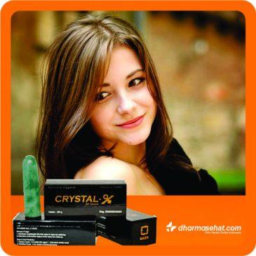 Crystal X Aman digunakan, Solusi Masalah Kewanitaan