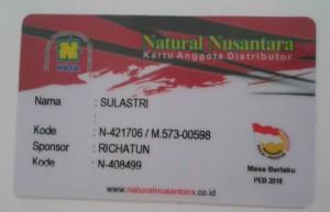 kartu member nasa