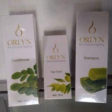 Jual Orlyn Conditioner Aromateraphy Untuk Rambut Hitam Berkilau