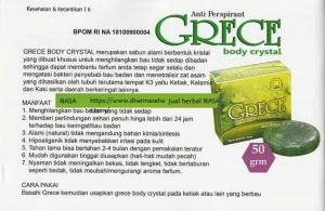 Grece Body Crystal Nasa