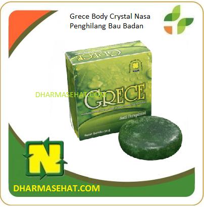 Grece Body Crystal Nasa Penghilang Bau Badan