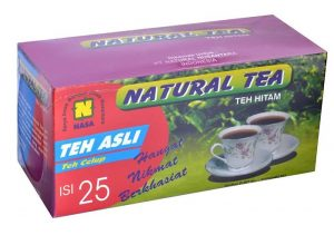 Natural tea NASA teh clup hitam berkhasiat