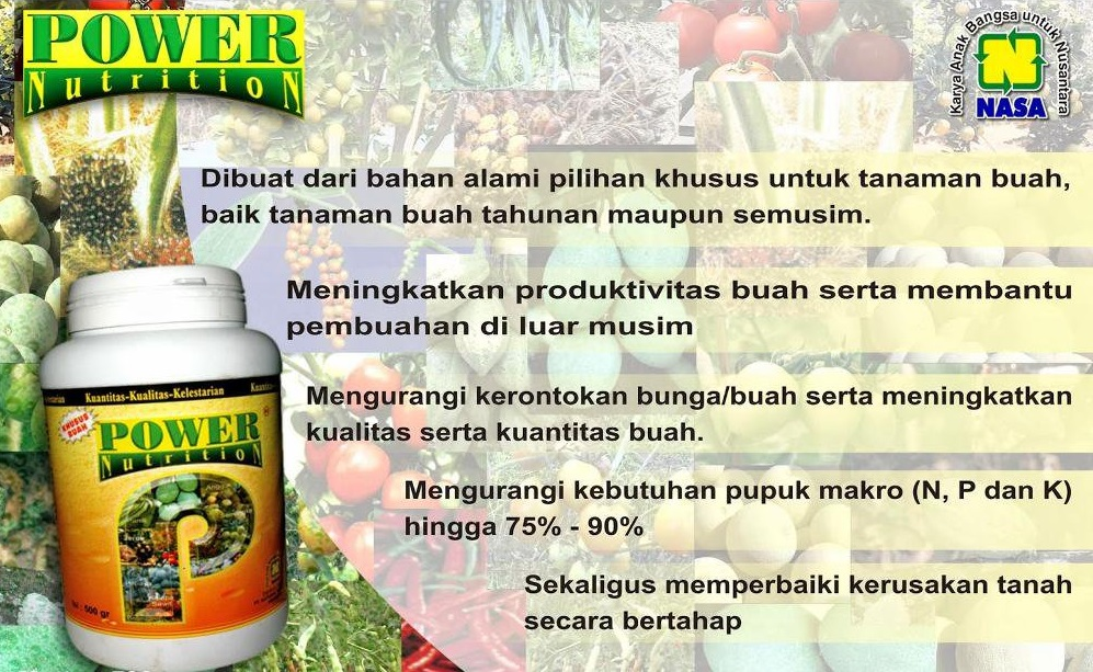 pupuk organik power nutrition