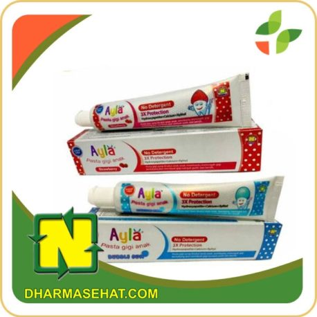 Ayla pasta gigi anak nasa