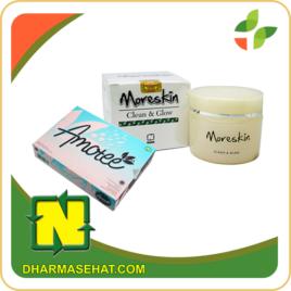 Produk Amote dan moreskin clean glow merupakan herbal yang diproduksi oleh PT NATURAL NUSANTARA (NASA) yang sangat bermanfaat dalam membantu menjaga kesehatan kulit. Produk ini terbuat dari bahan-bahan herbal yang telah teruji klinis dan telah memiliki izin edar dari BPOM.